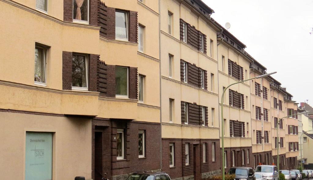 EWG-Siedlung an der Eugen-Richter-Straße.