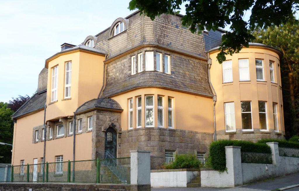 Villa Springmann an der Christian-Rohlfs-Straße