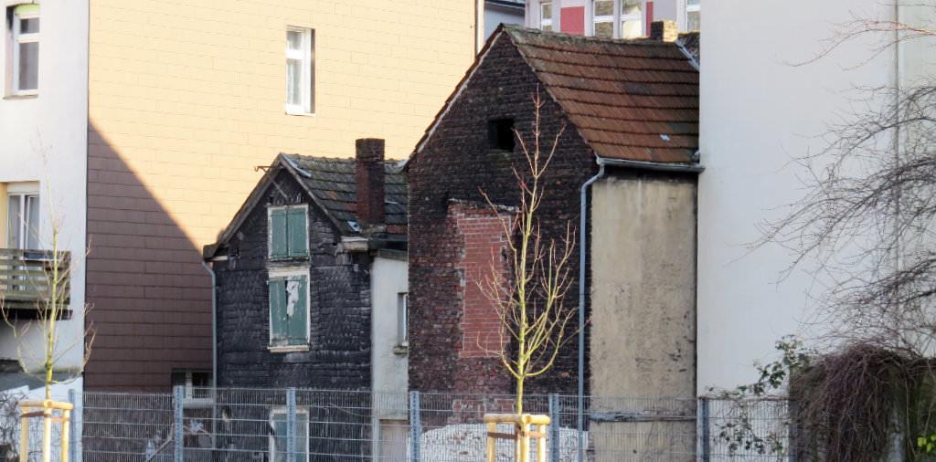 Alte Häuser an der Wehringhauser Straße