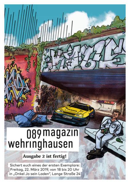 089magazin wehringhausen Release am 22.3. um 18 Uhr in Onkel Jo sein Laden.