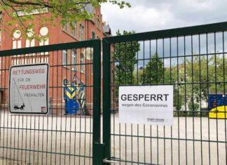 Gesperrte Emil-Schumacher-Schule