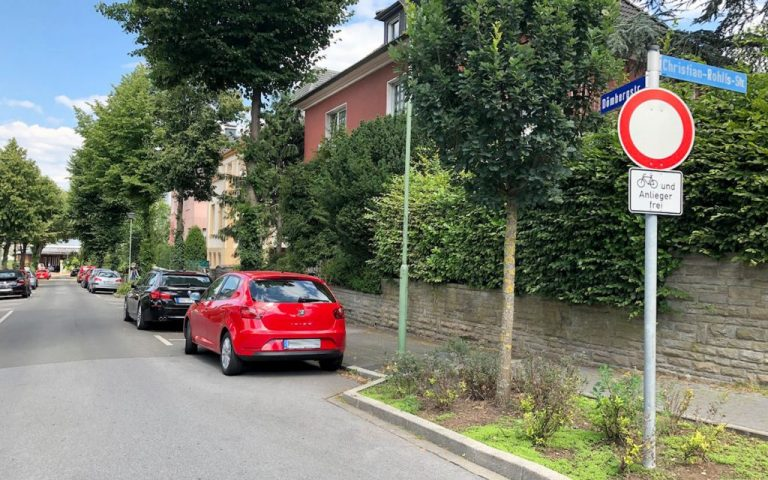 Kurz nach Polizeieinsatz: 32-Jähriger lag tot in der Dömbergstraße