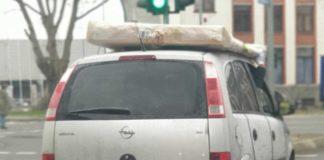 Mangelhafte Transportsicherung