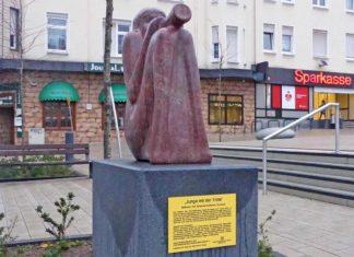 Skulptur am Wilhelmsplatz
