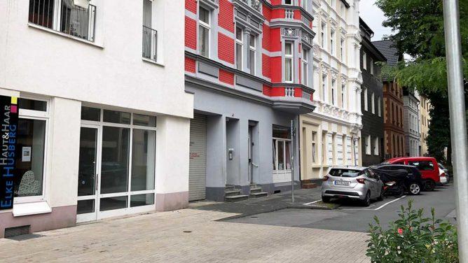 Falken-Geschäftsstelle in der Bismarckstraße